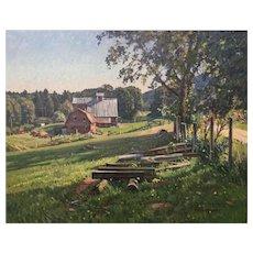 T.M. Nicholas - Sheep Farm, Irish Settlement Road VT