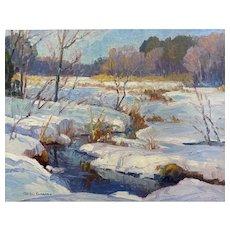 Mike Graves - Winter Marsh