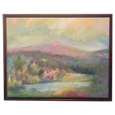 Julie Davis - Mountain Sunset