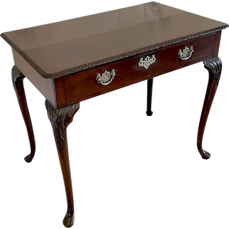 Antique George III Mahogany Side Table