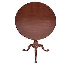 George III Antique Mahogany Tripod Table