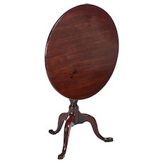 Quality Antique Georgian Mahogany Tripod Table