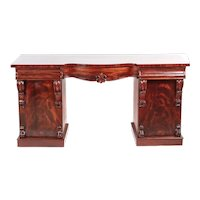 Splendid Quality Antique Victorian Carved Mahogany Sideboard