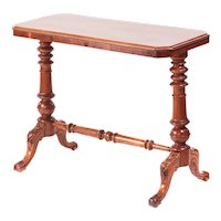 19th Century Victorian Antique Mahogany Side/Lamp Table