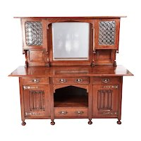 Outstanding Quality Antique Oak Arts & Crafts Sideboard