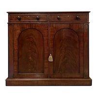 Antique 19th Century Victorian Mahogany Side Cabinet