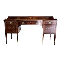 Outstanding Quality Large Antique George III Inlaid Mahogany Sideboard