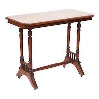 Antique 19th Century Walnut Centre Table