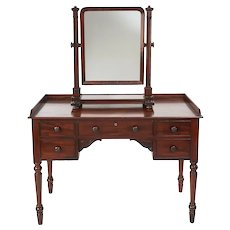 Antique 19th Century William IV Mahogany Dressing/Vanity Table