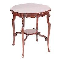 Antique Edwardian Mahogany Centre Table