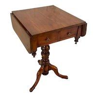 Antique Victorian Elm Freestanding Centre Table