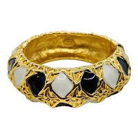 Kenneth Jay Lane Bangle Bracelet