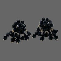 Exceptional French Runway Wingback Jet Chandelier Earrings
