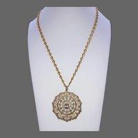 Vintage Catherine Popesco French Necklace