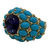 """Kenneth Jay Lane """"It's My Bling"""" Dome Ring"""