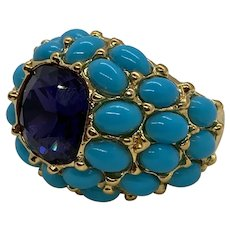 "Kenneth Jay Lane ""It's My Bling"" Dome Ring"