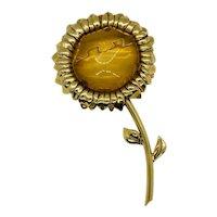 Valentino Haute Couture Sun Flower Brooch