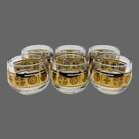 Culver Roly-Poly Whiskey/Cognac Glasses
