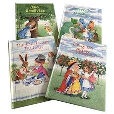 1992 Alice In Wonderland POP Up Series of Books