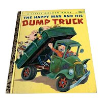 1950 Little Golden Book - The Happy Man and His Dump Truck