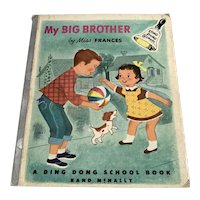 1954 Miss Frances Ding Dong School Book  - My Big Brother