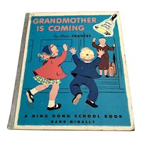 1954 Miss Frances Ding Dong School Book - Grandmother Is Coming