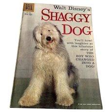 1959 Dell .10 Vent Walt Disney Comic Book  - The Shaggy Dog