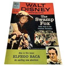 1960 Dell .10 Cent Comic Book - Walt Disney's The Swamp Fox