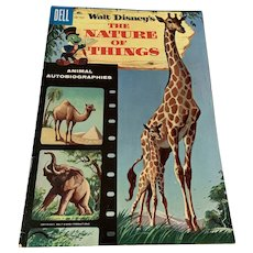 1956 Dell .10 Cent Comic Book - Walt Disney's The Nature Of Things