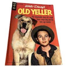 1955 Gold Key .12 Cent Comic Book - Walt Disney's Old Yeller
