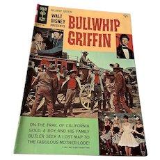1965 Gold Key .12 Cent Comic Book - Walt Disney's Bullwhip Griffin