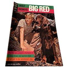 1962 Gold Key .12 Cent Comic Book - Walt Disney's Big Red