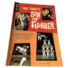 1963 Gold Key .12 Cent Comic Book - Walt   Disney's Son Of Flubber