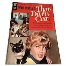 1965 Gold Key .12 Cent Comic Book - Walt Disney's That Darn Cat