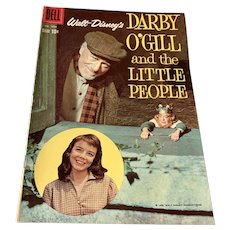 1959 Dell .10 Cent Walt Disney Comic Book   - Darby O'Gill & The Little People