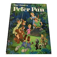 1976 zing Golden Book - Walt Disney's Peter Pan