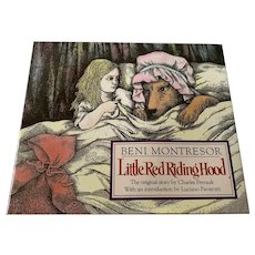 1991 First Edition Children's Book - Little Red Riding Hood