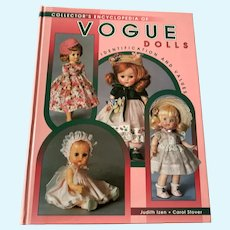 1998 Collector Book - Encyclopedia Of Vogue Dolls