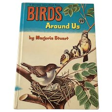 1961 Whitman Learn About Book - Birds Around Us
