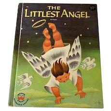 1960 Vintage Children's Wonder Book - The Littlest Angel