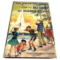 1991 First Edition Children's Book - Happy Hollister's Mystery At Missile Town