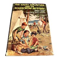 1957 First Edition Children's Book - The Happy Hollister's Scarecrow Mystery