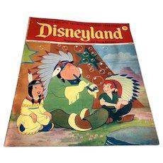 1973 Disneyland Magazine - Peter Pan Indians Cover # 81