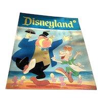 1973 Disneyland Magazine - Alice In Wonderland Walrus Cover # 76