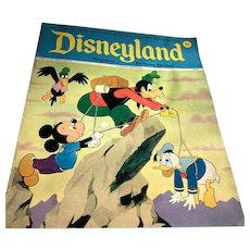 1973 Disneyland Magazine - Mickey, Donald & Goofy Cover # 80