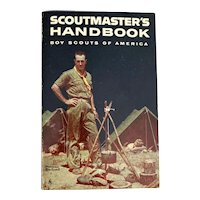 1970 Boy Scout Scoutmaster's Handbook - Norman Rockwell Cover