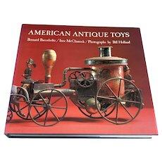 Book - American Antique Toys 1830 - 1900 - DJ