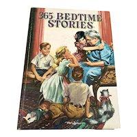1955 Whitman Children's Book - 365 Bedtime Stories