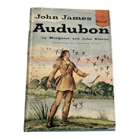 1954 Landmark Children's Book - John James Audubon - DJ