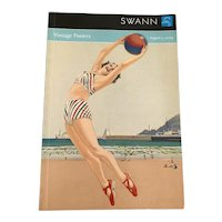 August 5 , 2009 Swann Auction Catalog - Vintage Posters